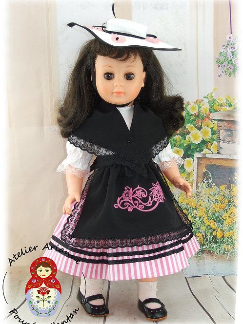 Janvier 1963 Tenue pour poupée Marie-Françoise Modes et Travaux