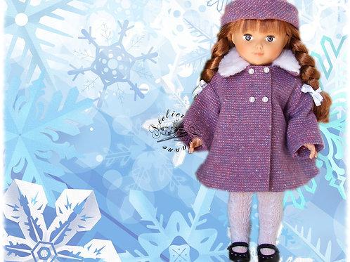 Tenue pour poupée Marie-Françoise Modes et Travaux Novembre 1965