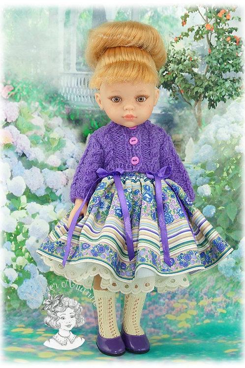Violaine -tenue pour poupées Chérie de Corolle et Las Amigas de Paola Reina