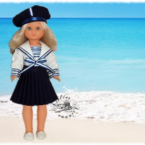 Tenue marine pour poupée Nancy de Famosa