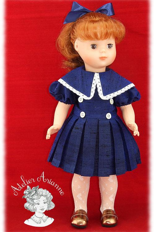 Tenue pour poupée Françoise de Modes et Travaux, Décembre 1955
