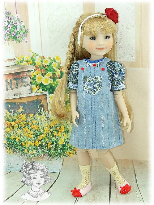 Iris - Tenue exclusive pour poupées Fashion Friends - Ruby Red