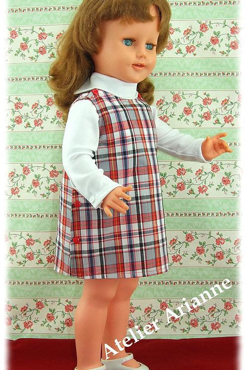 Tenue Maternelle pour poupée Bella de 52 cm
