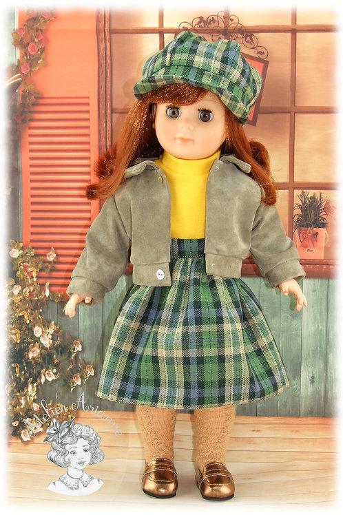 Septembre 1983-Tenue pour poupée Marie-Françoise de Modes et Travaux