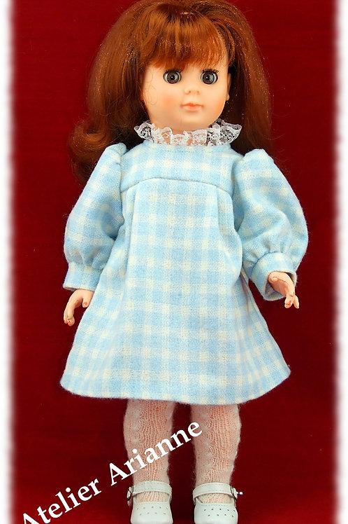 Tenue pour poupée Marie-Francoise Modes et Travaux Octobre 1981