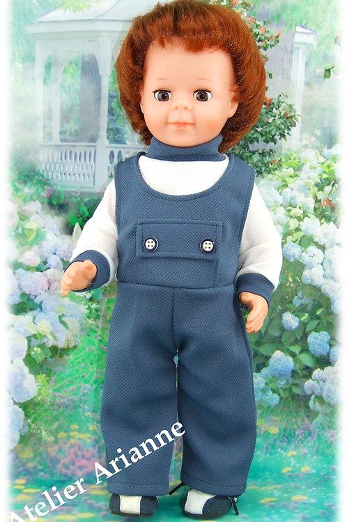 Tenue pour poupée Jean-Michel Modes et Travaux avril 1973