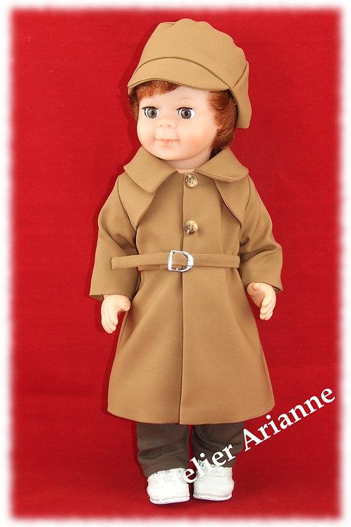 Tenue Mars 1980 pour poupée Jean-Michel de Modes et Travaux