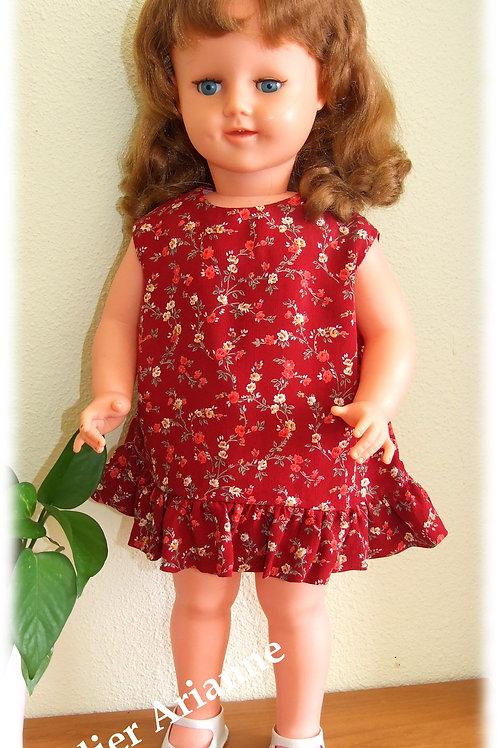 Tenue Carine pour grandes poupées de 55-57 cm