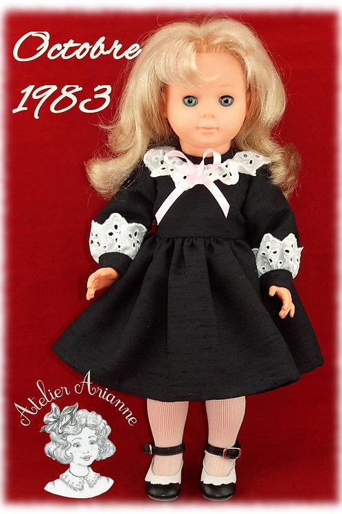 Octobre 1983 Tenue pour poupée Marie Françoise Modes et Travaux