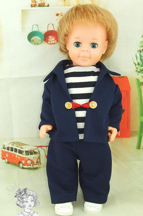 Juin 1966-Tenue pour poupée Jean-Michel Modes et Travaux