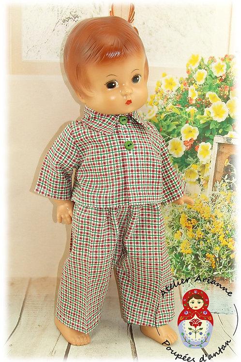 Tenue BONNE NUIT pour poupée Patsy et Skippy de 33 cm