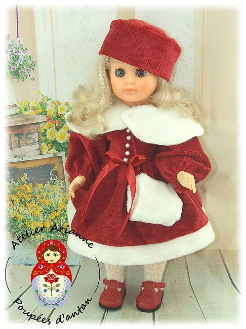 Modèle exclusif - Elsa tenue pour poupée Marie-Françoise