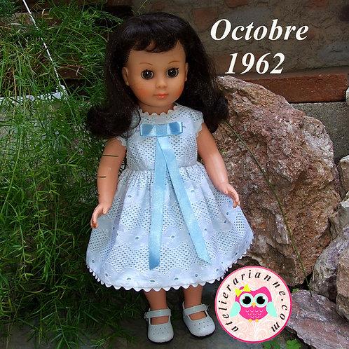 Tenue pour poupée Françoise Modes et Travaux  Octobre 1962