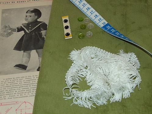 Kit 102 couture Modes et Travaux Françoise,  Décembre 1954