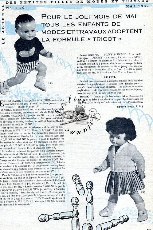 Page Modes et Travaux Mai 1962