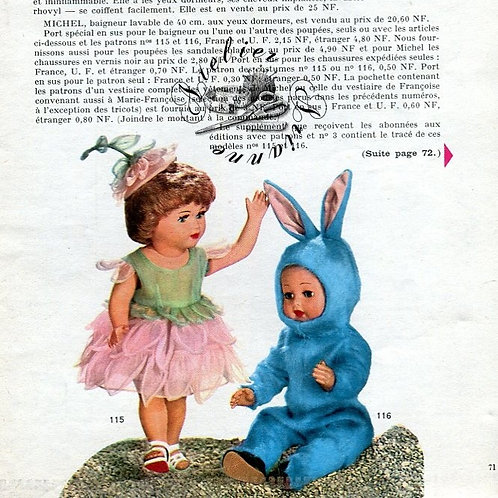 Page Modes et Travaux Août 1960