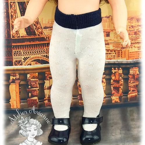 Nr 16 Collant en jersey pour poupées de Modes et Travaux, Kattie de Raynal