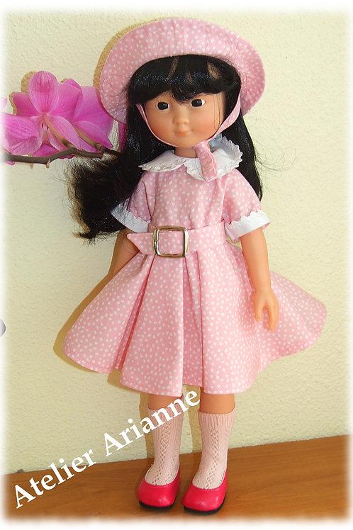Tenue Ophelia pour poupée Cherie de Corolle et Paola Reina 33 cm