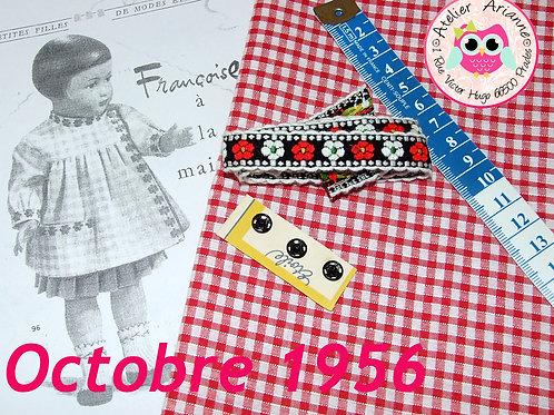 Kit 49 couture Modes et Travaux Françoise,  Octobre 1956