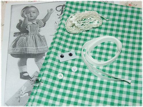 Kit 14 couture Modes et Travaux Françoise Avril 1953 tablier