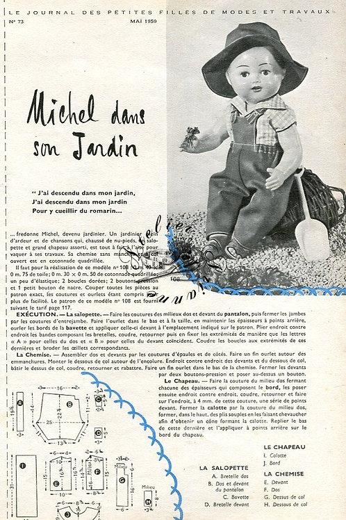 Page Modes et Travaux Mai 1959