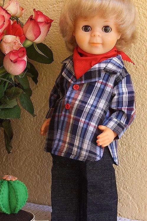 Tenue pour poupée Jean-Michel M et T septembre 1982