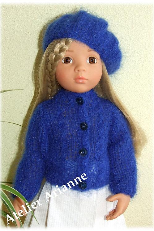 Tenue Valentina tricot pour poupée Gotz