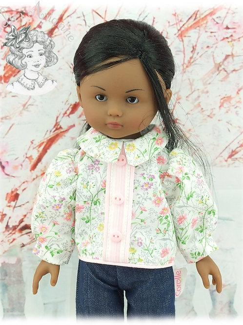Chemise fantaisie pour poupée Corolle