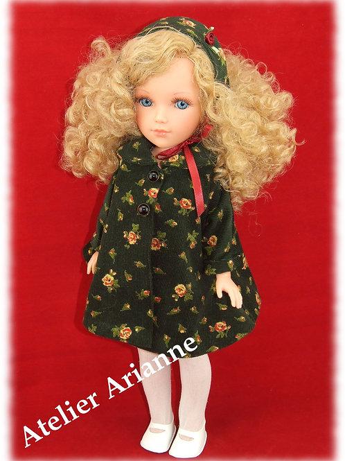 Tenue Apolline pour poupées Vidal Rojas ,Nancy de Famosa, Fany Berbesa