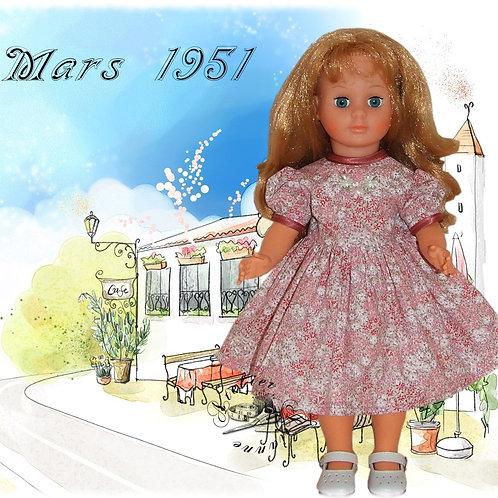 Robe Françoise Rose Mars 1951