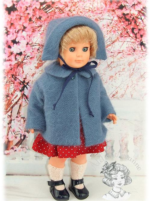 Décembre 1960 Tenue pour poupée Marie-Francoise 39 cm