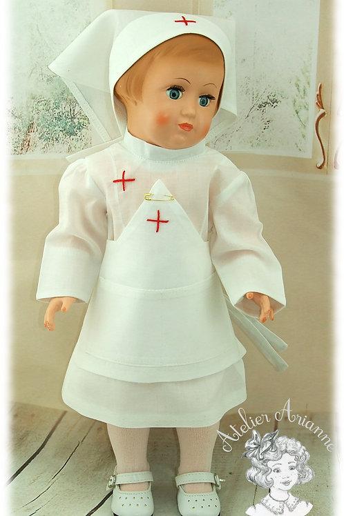 Tenue d'infirmière Françoise Janvier 1958