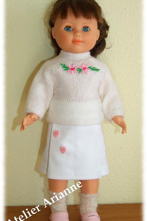 Tenue Ada tricot, couture pour poupée Marie-Françoise Modes et Travaux