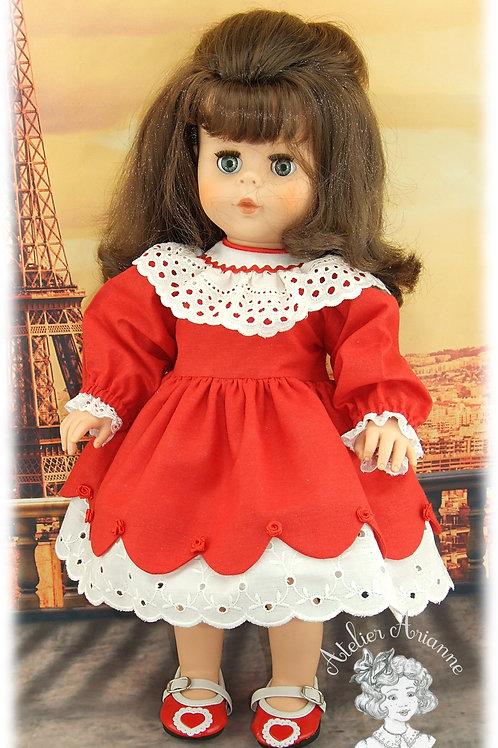 Adèle-tenue poupée Kattie de Raynal et poupées de Modes et Travaux