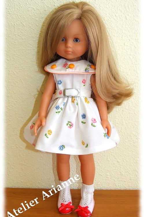 Tenue Eliane pour poupée Chérie de Corolle et Paola Reina 33 cm