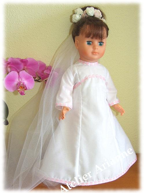Tenue pour poupée Marie-Françoise Modes et Travaux Février 1969