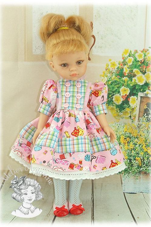 Dorothy - Tenue exclusive pour les poupées Paola-Reina et Chérie de Corolle