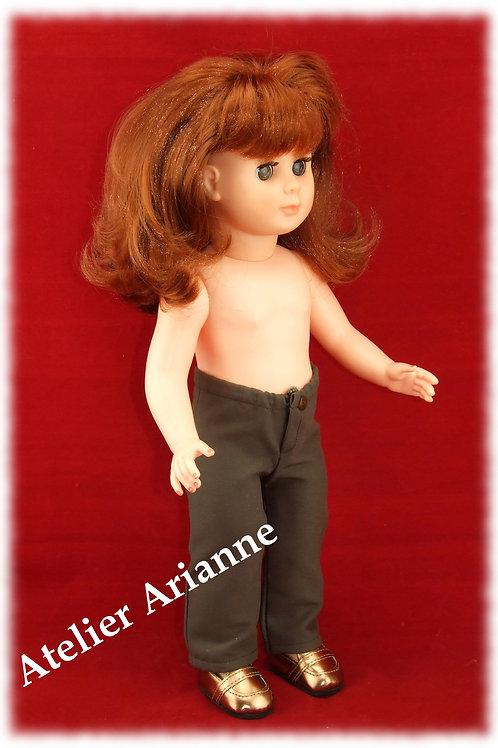 Pantalon pour poupée Marie-Françoise Modes et Travaux