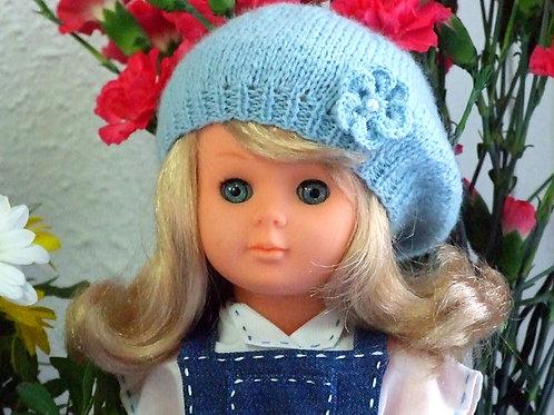 Béret pour poupée Françoise Modes et Travaux