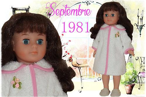 Tenue Françoise ou Marie-Françoise Septembre 1981