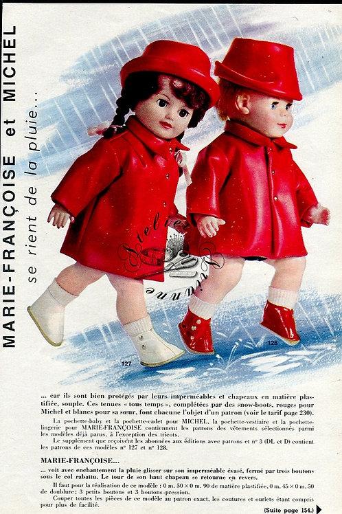 Page Modes et Travaux Avril 1966 avec mini patron
