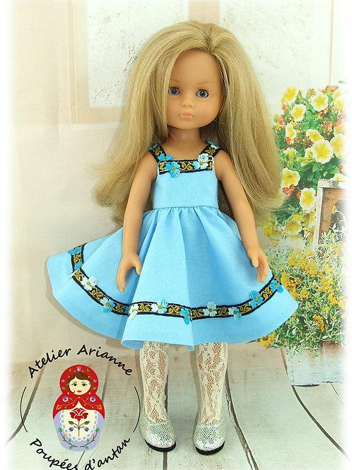 Tenue Nadette pour poupée Paola Reina ou Corolle 33 cm
