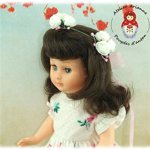 Couronne de fleurs pour les poupée Modes et Travaux