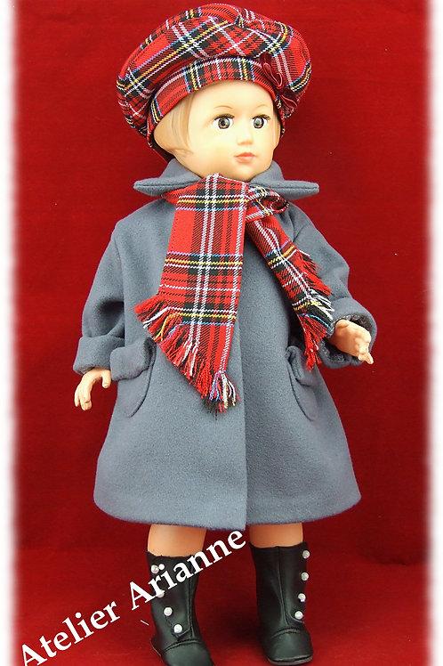 Tenue pour poupée Françoise, Marie Françoise  Modes et Travaux Mars 1952