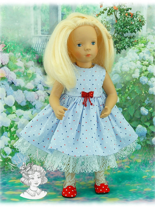 Robe Étoiles pour poupées Minouche et Bombon