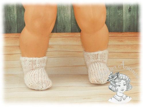 Chaussettes pour poupées et baigneurs de 45-50  cm
