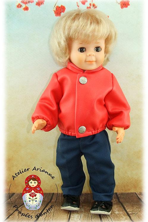 Veste Septembre 1983 - Tenue pour poupée Jean-Michel de Modes et Travaux