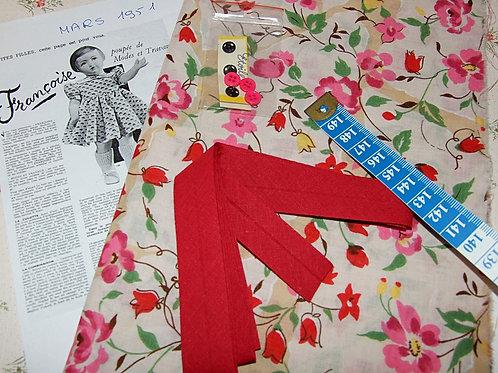 Kit 77 couture Modes et Travaux Françoise Mars 1951