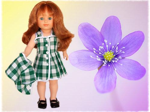 Tenue pour poupée Marie-Françoise  Modes et Travaux Mai 1961