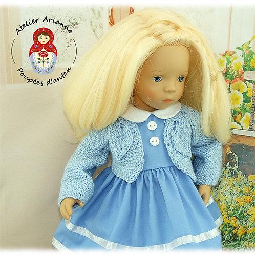 Gilet Jade -Tenue pour poupée Minouche de Petitcollin